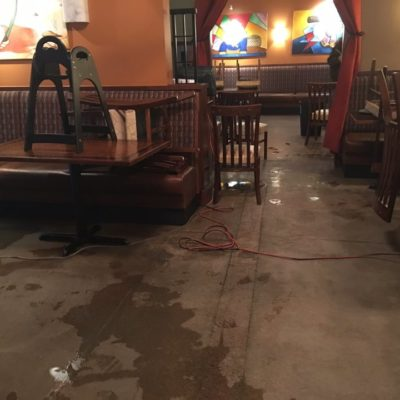 Commercial Water Damage Clean-Up 24/7