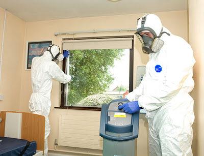 Coronavirus Prevention: Disinfectant Fog Home and Business