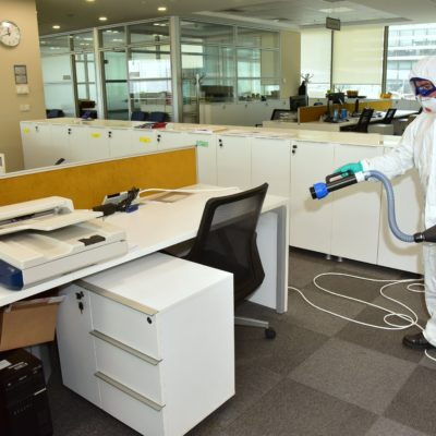 Bank and Office COVID Disinfection